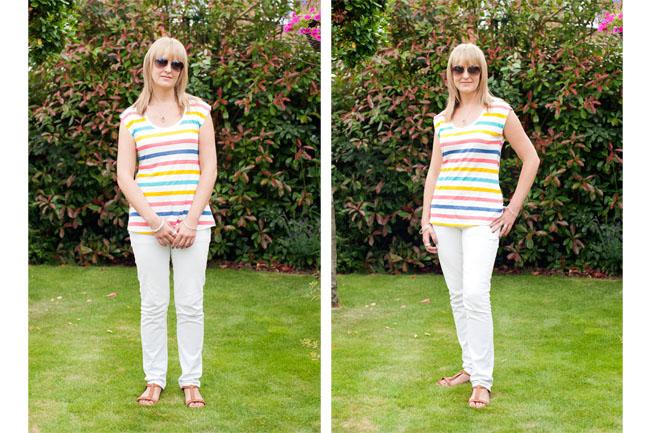Posing tips for women – the full length 'Model' pose